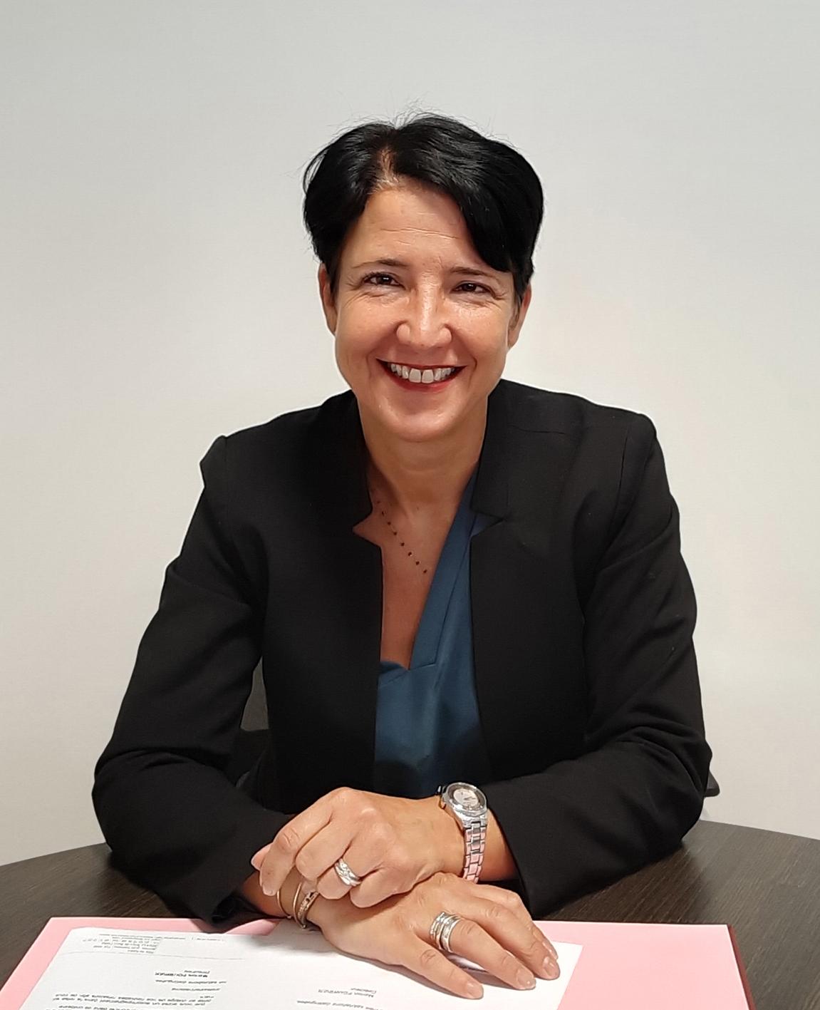 Marion Fourrier,  nouvelle directrice de la Clinique d'Arcachon